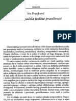 Pranjković-Temeljna načela hrvatskoga jezika