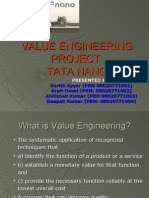 Value Engineering Project
