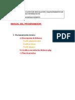 Manual Programador