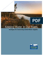 Keeping Water in Our Rivers