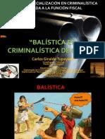 La Balistica en La Criminalistica de Campo