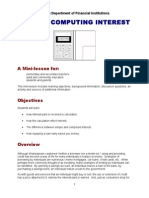 Abcs of Computing Interest