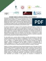 Informe Sobre El Derecho Humano Al Agua en M_xico-1