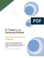 El Trabajo y Esclerosis Multiple