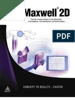 2D Product Sheet 1 Maxwell 2D