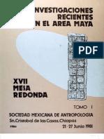 1981-El Trazo Urbano en Monte Albán; secuencia cronológica