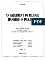Research Report on Islamic Banking