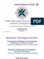 Dr. Greg Hetland - Profile Tolerancing Proof of Compliance - Vs - Process Feedback