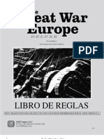 The Great War in Europe Reglas