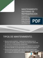 Mantenimiento sistemas de refrigeración.pptx