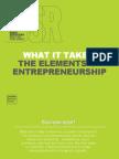 The elements of entrepreneurship Statistics