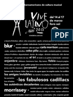 Vl2013 Poster Oficial