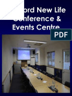 Sleaford New Life Conference & Events Centre - Full Conference Brochure