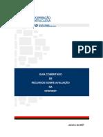 GUIA RECURSOS SOBRE AVALIAÇÃO NA INTERNET [IPAD - 2007]