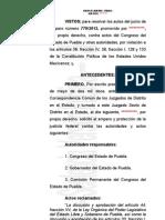 Sentencia Edmundo Briones Chapulines