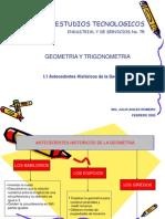 11 Antecedentes Historicos de La Geometria 1234281623479370 2