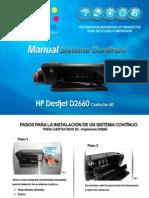 Instrutivo Instalacion CISS HP 60