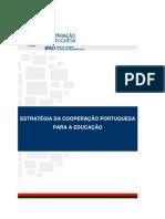 ESTRATÉGIA COOPERAÇÃO PORTUGUESA PARA EDUCAÇÃO [IPAD - SD]