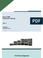 Cisco 7600 Tech Training - Anandp