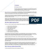 Record label business plan sample