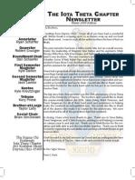 Fall 08 Alumni Newsletter