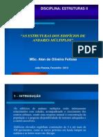 AULA 3 - ESTRUTURAS DOS EDIFÍCIOS DE ANDARES MÚLTIPLOS