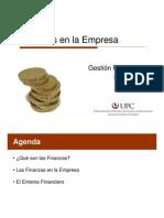 Semana 1 - Las Finanzas en La Empresa