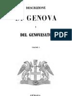 Descrizione Di Genova e Del Genovesato. Vol.I - 1846