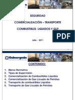 Seguridad en La Comercializacion y Transporte de Combustibles Liquidos y GLP