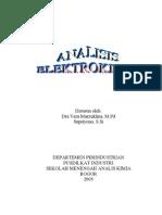Modul 2 Analisis Elektrokimia