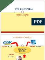 Costo Capital WACC ( Clase 1)