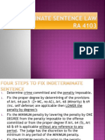 Indeterminate Sentence Law