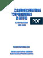 Patologías cardiorespiratorias y su Problemática en Altitud