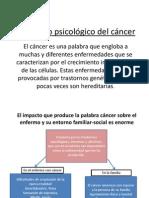 El impacto psicológico del cáncer