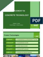 advancement in concrete technology