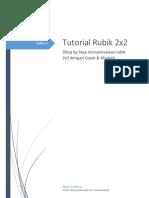 Tutorial Menyelesaikan Rubik 2x2 (Rubik.us)