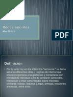 Redes Sociales(Allan)