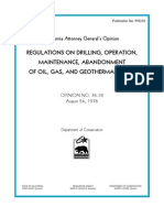 Drilling Regulation