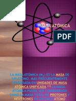MASA ATÓMICA O3
