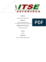 Tipos de Procesadores y Microprocesadores