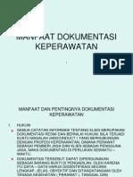 Manfaat Dokumentasi Keperawatan