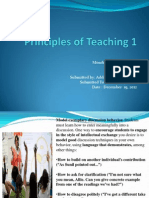 Principles of Teaching 1.Power Point-jaja