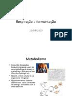 bio3_aula_06[1] - RESPIRAÇÃO E FERMENTAÇÃO