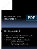 Hepatitis C 3.15.13 Case Conference