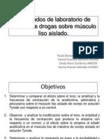 8.Efecto de Las Drogas Sobre El Musculo Liso Aislado
