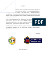 Comunicado FEVUNAB - CONSEJO PRESIDENTES