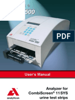 Analyticon Combi Scan 500 - User Manual