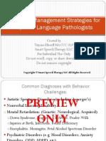 Beahvior Management Slide Previews