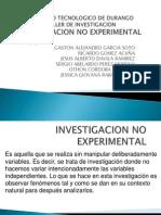 Investigacion No Experimental 1