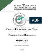 Curso de Habilidades Matematicas Parte II